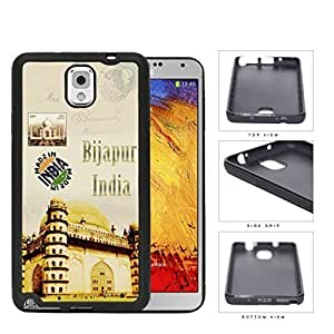 Bijapur India Temple Postcard Hard Plastic Snap On Cell Phone Case Samsung Galaxy Note 3 III N9000 N9002 N9005