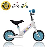 HAPTOO Balance Bike, Kid Bike 7 Inch [Ages 1.5 to 4 Years] Lightweight Aluminum Alloy No Pedal Walking Balance Training Bicycle for Toddler Kid Boys and Girl (White)