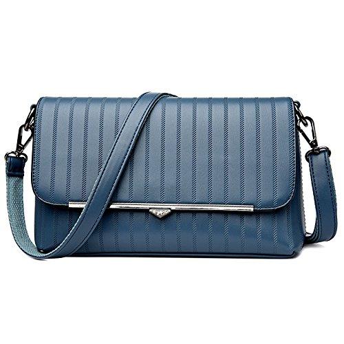 Bandoulière à HAOXIAOZI PU Sac Femmes Sac Pour Blue Casual Bandoulière à Fashion gg58nWqxR