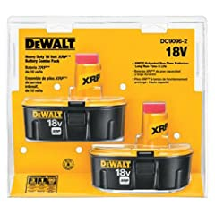 The product is easy to use and easy to handle. The product is highly durable. This product is made of high quality material.Keep your DEWALT 18-volt cordless tools powered with the DC9096 XRP extended run time batteries. DEWALT uses top-quali...