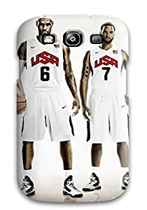 Larry B. Hornback's Shop lebron james deron williams nike basketball kevin durant kobe bryant usa nba NBA Sports & Colleges colorful Samsung Galaxy S3 cases
