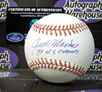 Autograph 190370 Inscribed 1984 Ws Champs Detroit Tigers Jack Morris Autographed Baseball