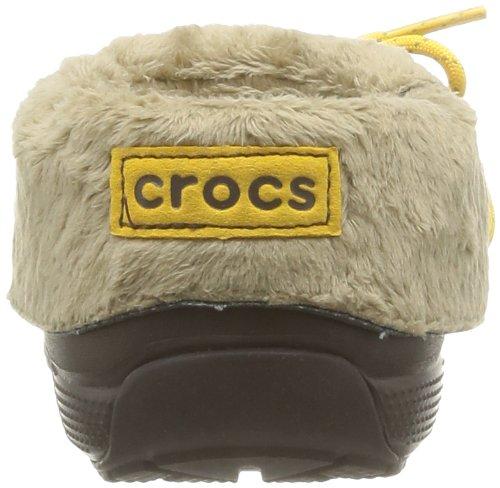crocs Blitzen Convertible K Unisex-Kinder Clogs Braun (Espresso)