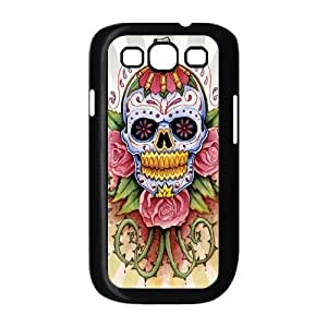 TOSOUL Phone Case Skull Hard Back Case Cover For Samsung Galaxy S3 I9300