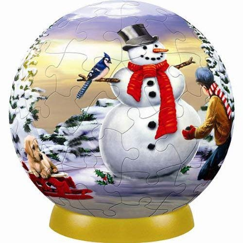Unicorn Christmas Tree Ornament 60 Piece Puzzleball (Ornaments Puzzleball Christmas)