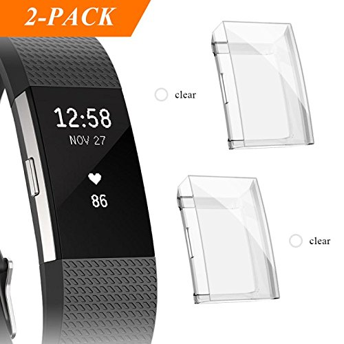 Which are the best fitbit charge 2 screen protector waterproof available in 2020?