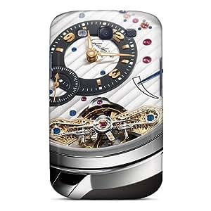 DaMMeke Perfect Tpu Case For Galaxy S3/ Anti-scratch Protector Case (glashutte Watches)