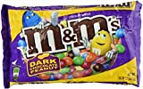 Dark Chocolate Peanut Large Bag M&Ms 19.20 Oz (Pack of 2)