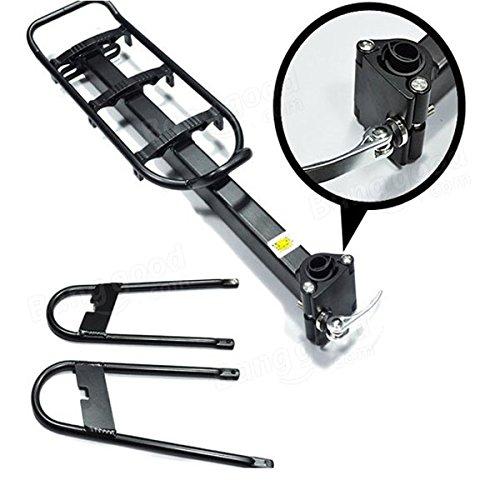 Bazaar Alliage d'aluminium support de tablette arrière pack cadre de chargement de support à vélo