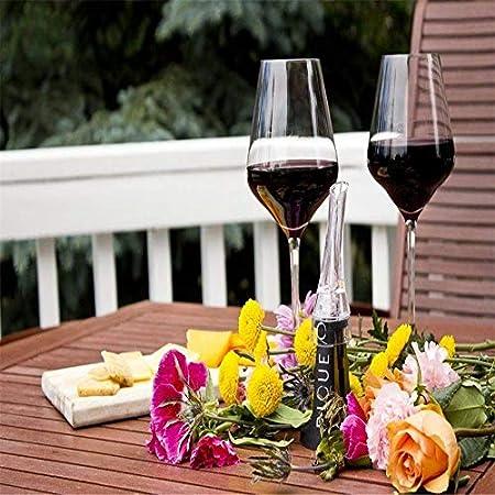 Aireador de vino para vertedor de vino tinto, decoración rápida de vino, para casa, fiesta, bar