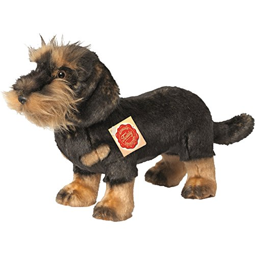 (Hermann Teddy Collection 919230 28 cm Wire Haired Dachshund Standing Plush)