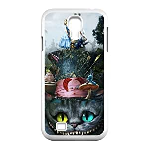 Unique Design Cases Samsung Galaxy S4 I9500 Cell Phone Case Alice In Wonderland Cheshire Cat Uiupx Printed Cover Protector