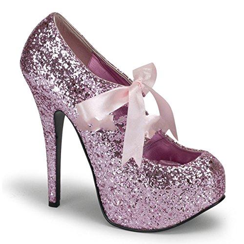 Bordello Teeze-10G - sexy burlesque plateaus chaussures femmes talon hauts - taille 36-43