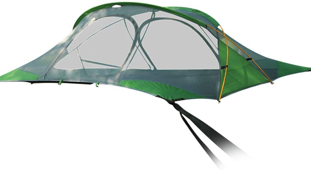 Camping Hammock Rainproof Suspension Self-Driving Mosquito Can Accommodate 2 People Ventilated Tree Hanging Tent HUJUNG Camping Tent