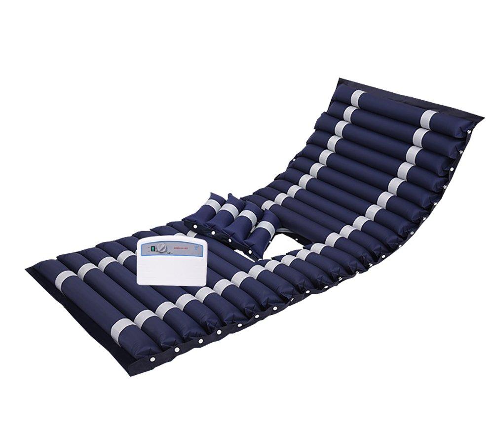 Anti-Wundliegen Luftmatratze Alten Luftmatratze Bedsore Aufblasbares Bett Zuhause Gelähmt Pflege Mit Luftpumpe PVC Wasserdicht,B,20090Cm