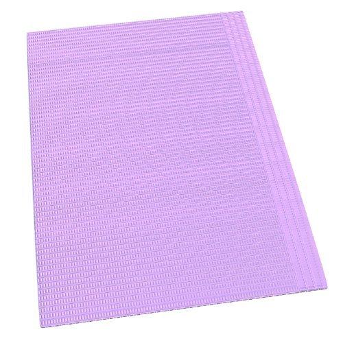 Dynarex Corporation 4495 Bib, 17¾''x 12 7/8'', Lavender (Pack of 500)