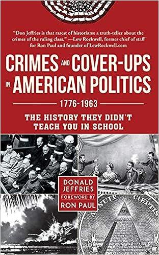 Crimes & Coverups in American Politics: 1776-1963: Amazon.es ...