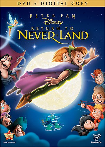 Peter Pan Return to Neverland: Special Edition (DVD + Digital Copy)