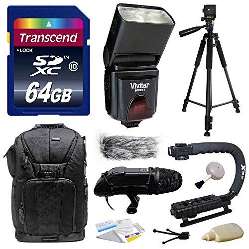 Ultimate Accessories Bundle Kit includes Transcend 64GB Clas