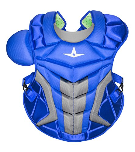 All Star System 7 Axis Chest Protector Royal/Grey -