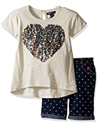 Limited Too Girls' 2 Piece Bermuda Short and Embellished...