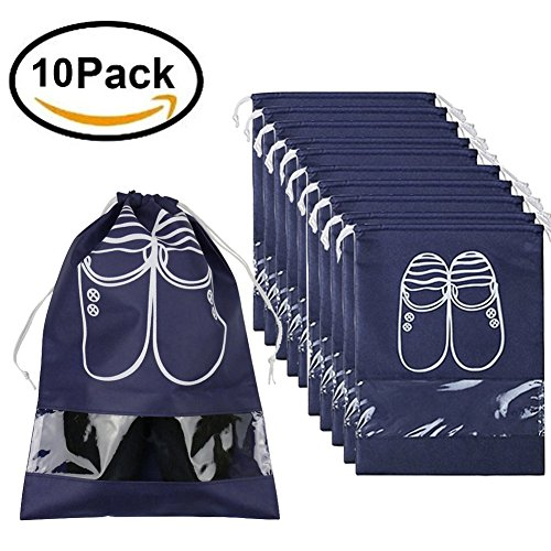 Dust proof Breathable Organizer Drawstring Transparent product image