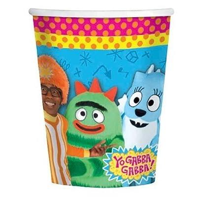 amscan Yo Gabba Gabba! 9oz Paper Cups (8ct): Toys & Games