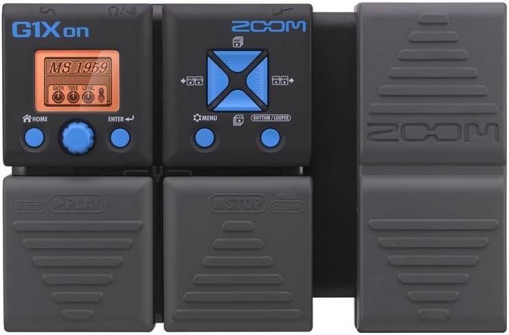 Zoom - G1XON - para guitarra eléctrica - con pedal de expresión