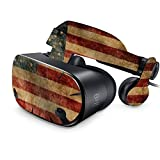 MightySkins Skin For Samsung Odyssey VR - Vintage Flag | Protective, Durable, and Unique Vinyl Decal wrap cover | Easy To Apply, Remove, and Change Styles | Made in the USA