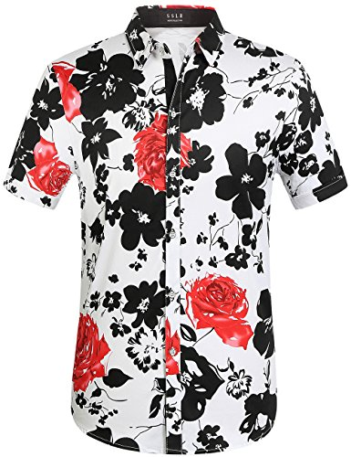 sslr-mens-flower-casual-button-down-short-sleeve-shirt-x-large-white-168-161