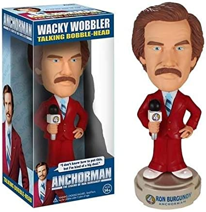 "Explicit Language Anchorman Talking Ron 13/"" Figure Free Shipping!"