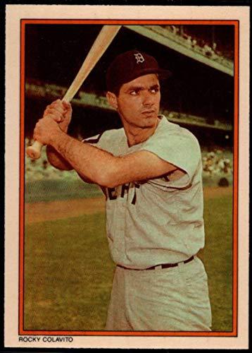 Mlb Circle - Baseball MLB 1985 Topps Circle K #27 Rocky Colavito Tigers