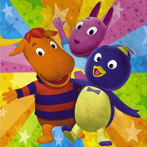 Backyardigans Lunch Napkins (16 count) (The Backyardigans Games Halloween)