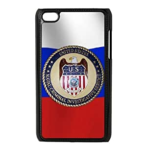 ipod 4 phone cases Black NCIS fashion cell phone cases YRTE0189501