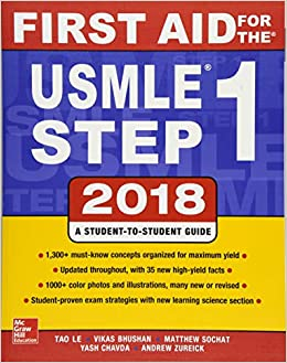sale retailer d3e2e 4b132 First Aid for the USMLE Step 1 2018, 28th Edition Lingua ...