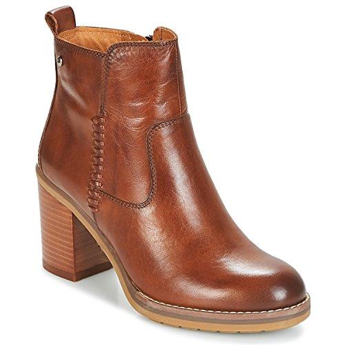 Pompeya Women's Cuero Ankle Cuero Boots W9t i18 Pikolinos Brown POTwW5xq5
