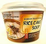 korean rice soup - Surasang Instant Cup Rice Cake Soup (6.3 oz/ 1 Serving) 수라상 전통 떡국 1 인분