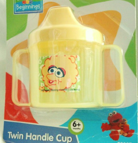 Sesame Street Beginnings BPA Free Twin Handle Sippy Cup with Baby