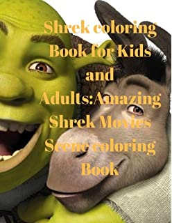 Amazon.com: Shrek: Adults coloring book (9781544815855): sami ...