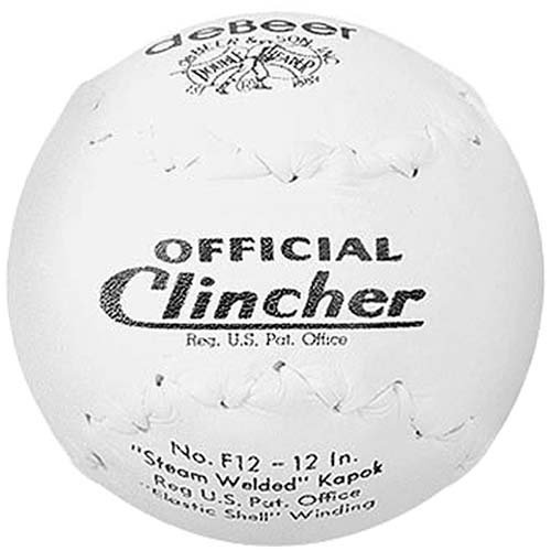 worth-debeer-official-f12-clincher-12-softball-1-dozen