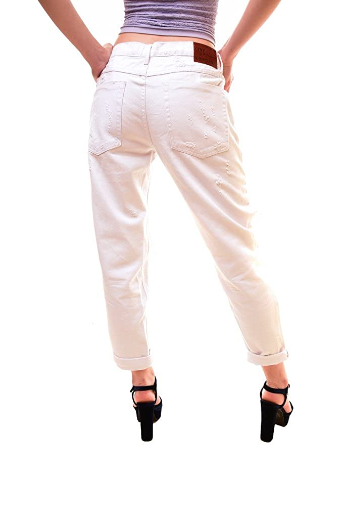 One Teaspoon Womens Awesome Baggies Jeans White Size 27