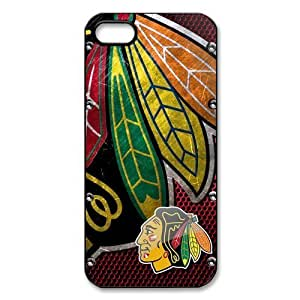 New Gift Chicago Blackhawks Durable Case for Iphone 5 5S Snap On by runtopwell