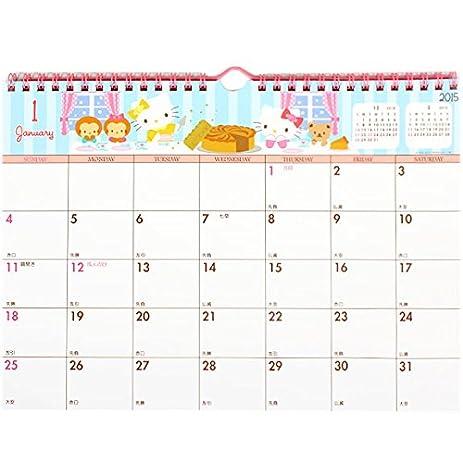 write in calendar 2015