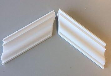 1 Außen Ecke Led Leiste Indirekte Beleuchtung Styroporleiste