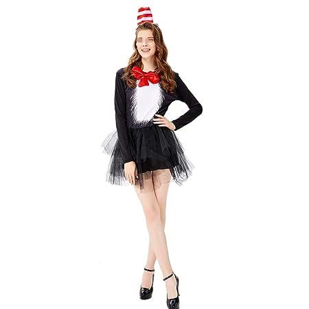 BGROEST-cloth Vestido de Dama de Halloween Disfraz de Mago Negro ...