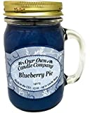 Blueberry Pie Scented 13 Ounce Mason Jar Candle By Our Own Candle Company