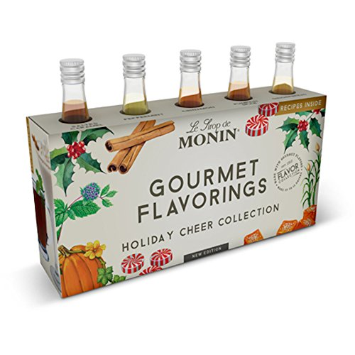 - Monin Holiday Cheer Collection Flavoring Syrups