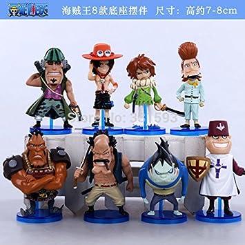 anime figures One Piece Whitebeard Namyuru Haruta Jiru Curiel Pirates Ace Toys Dolls PVC Action Figure