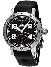 ChronoSwiss Men's CH-8143-BK Time Master Black Dial Swiss Automatic Watch