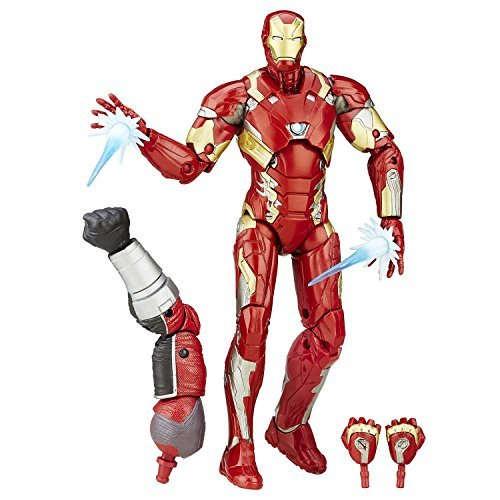 [Super Hero Iron Man Mark 46 Figure 6-Inch Hero Series Action Figures Toys] (He Man Childrens Costume)